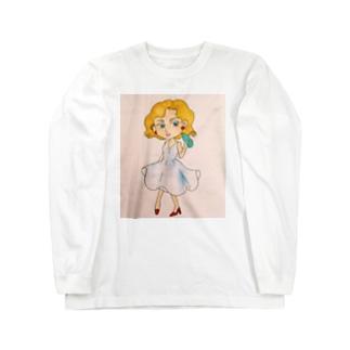 レディliquor Long sleeve T-shirts