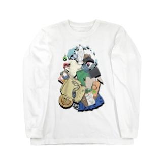 破壊の軌跡 Long sleeve T-shirts