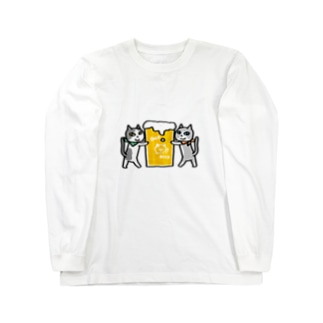 ご注文のビールです Long sleeve T-shirts
