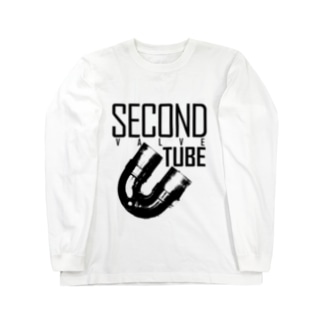 SECOND -VALVE TUBE- Long sleeve T-shirts