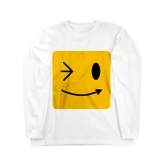 笑顔 Long sleeve T-shirts