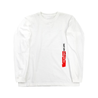 NO MISTAKE, NO LIFE. Long sleeve T-shirts
