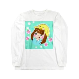 ガブちゃん Long sleeve T-shirts