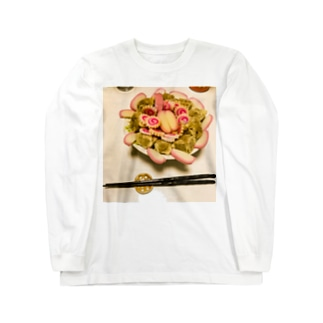 圧倒的冷やし中華photo  Long sleeve T-shirts