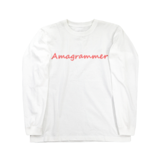 アシベズヘアのAmagrammer Long sleeve T-shirts