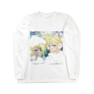 鏡音リンとレン 冬景色 Long sleeve T-shirts