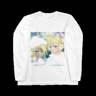 さやひよの宝箱の鏡音リンとレン 冬景色 Long sleeve T-shirts
