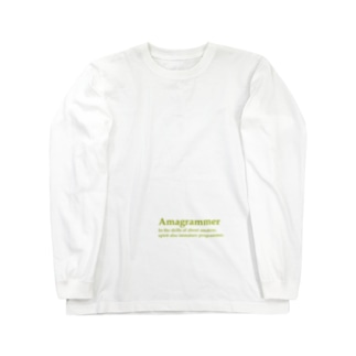 Amagrammer Long sleeve T-shirts