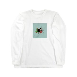 ペンギンの「スイカ」割り Long Sleeve T-Shirt