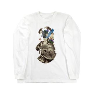 無意識とイチゴのショートケーキ Long sleeve T-shirts