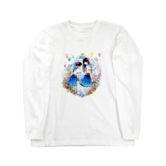秘密の花園 Long sleeve T-shirts