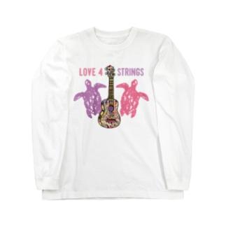 UKULELE_love4strings Long sleeve T-shirts