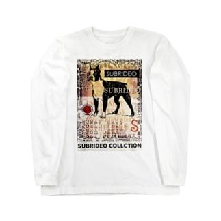 ボストンテリア Long sleeve T-shirts