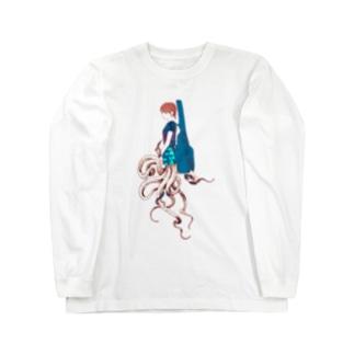ロックタコ少女003 Long Sleeve T-Shirt