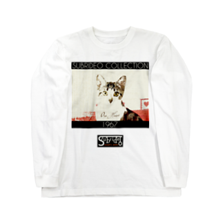 スブリデオの猫の目(シンプル) Long sleeve T-shirts