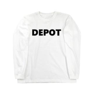 貯蔵庫!!にしようよ!! Long sleeve T-shirts