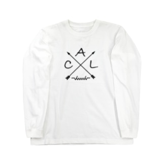 dacci 矢(黒) Long sleeve T-shirts