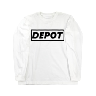 depotRMの貯蔵庫メッセーージ!! Long sleeve T-shirts