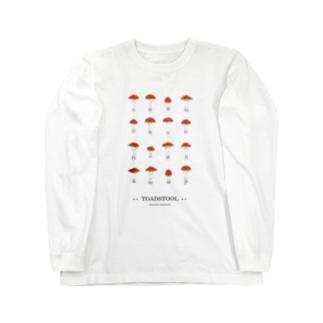 ベニテングタケ Long sleeve T-shirts