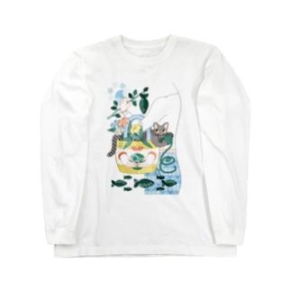 N・ECOBAG Long sleeve T-shirts