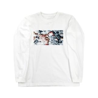 紫陽花グラフィックT Long sleeve T-shirts