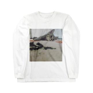 あっしゅくん① Long sleeve T-shirts