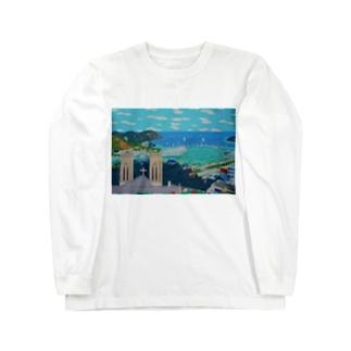 ニューカレドニアFOLの丘 Long Sleeve T-Shirt