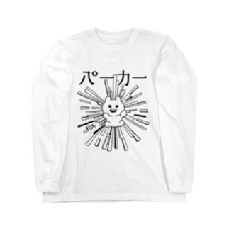 八°一力一(はちどいちちからいち) Long sleeve T-shirts
