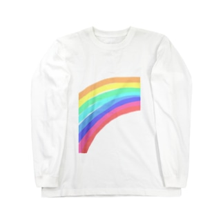 レインボー Long sleeve T-shirts