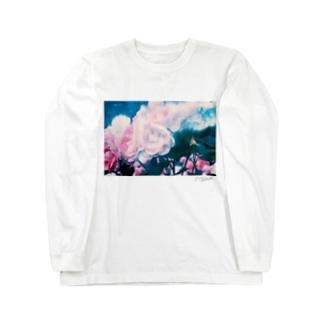筆跡、光 Long sleeve T-shirts