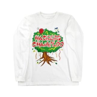 ハッカーズチャンプルー ガジュマル Long sleeve T-shirts