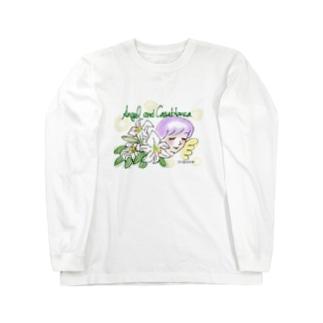 Ang33 エンジェルとカサブランカ Long Sleeve T-Shirt
