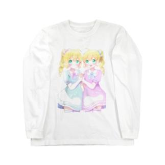 双子ちゃん Long sleeve T-shirts