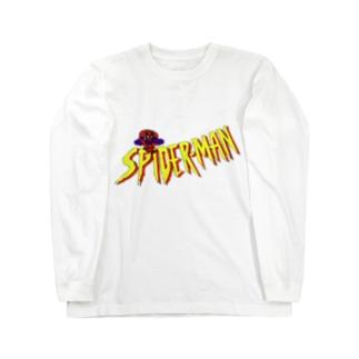 蜘蛛男 Long sleeve T-shirts