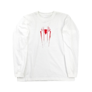 蜘蛛(液体) Long sleeve T-shirts