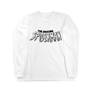 スパイダー Long sleeve T-shirts