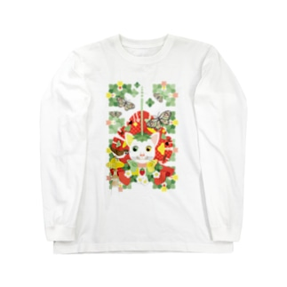 苺大福/Strawberry Daifuku Long sleeve T-shirts
