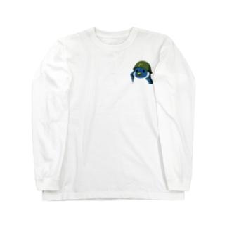 ペンギン軍チャリティアイテム販売 Long sleeve T-shirts