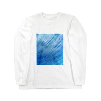 宇宙の風 / Space Wind Long sleeve T-shirts