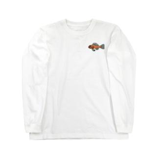snaggedgorillaのオキナワベニハゼ Long sleeve T-shirts