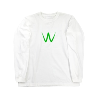 Wカップ Long sleeve T-shirts