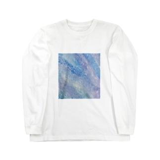 煌流 / Shining flow Long sleeve T-shirts