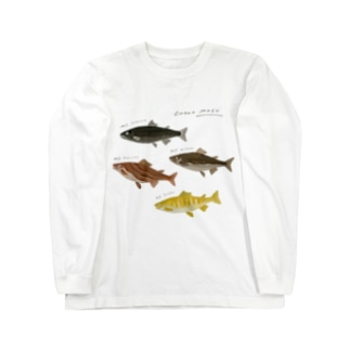 カカオマス4兄弟 Long sleeve T-shirts