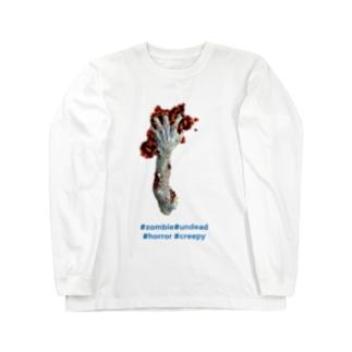 zombieインスタ風 Long sleeve T-shirts