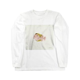 桜もちうお Long sleeve T-shirts