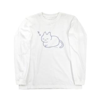 おひるねこ。 Long sleeve T-shirts