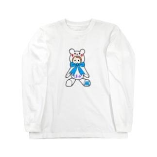 くまーみシリーズ Long sleeve T-shirts