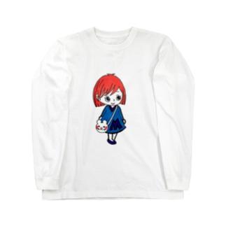 まあみちゃんシリーズ Long sleeve T-shirts
