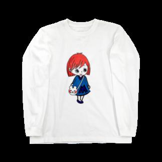 MAAMI(まあみ)のまあみちゃんシリーズ Long sleeve T-shirts