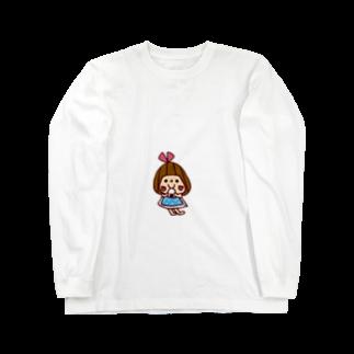 かょのこ♪のおにぎり Long sleeve T-shirts